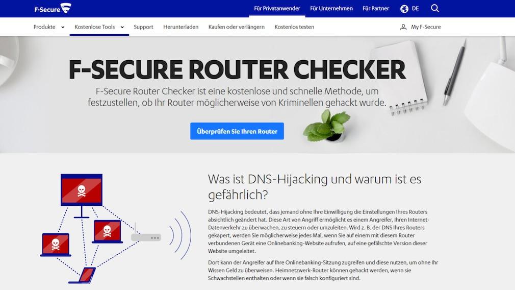 Windows 7/8/10: DNS-Server ändern zum sicheren und schnelleren Surfen Mit F-Secure Router Check prüfen Sie, welchen und ob Sie einen kompromittierten DNS-Server nutzen.