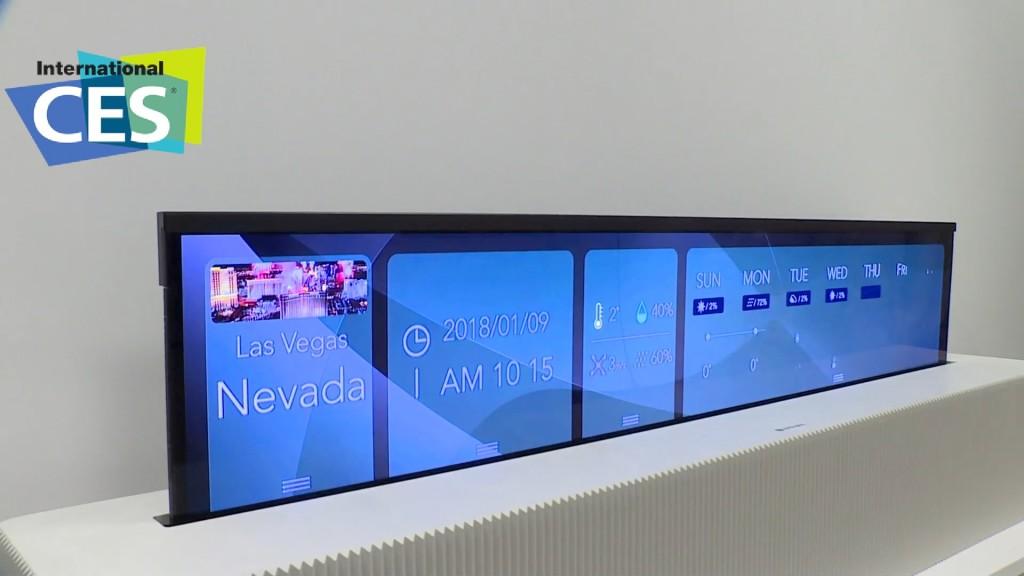 Fernseher-Neuheit: Dieser LG-TV lässt sich aufrollen