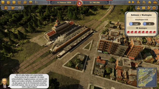 Railway Empire - Screenshot © Kalypso Media