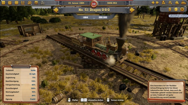 Railway Empire - Test - Screenshot 1 © Kalypso Media