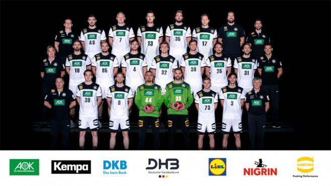 Die DHB-Auswahl©Deutscher Handballbund