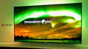 Philips 65OLED873: Großer OLED-TV©COMPUTER BILD