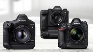 Kaufberatung Profi-Kameras©Canon, Nikon, Sony, iStock.com/Csondy