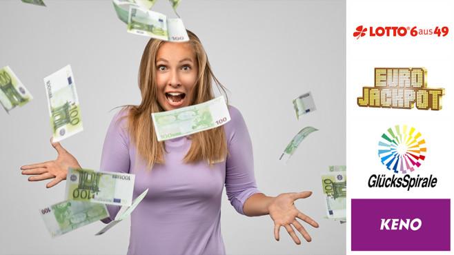 Lotto, Eurojackpot & Co.: Hier locken Millionen-Gewinne©istockphoto.com/Maksim Kamyshanskii