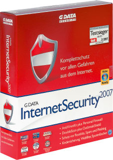 G-Data Internet Security 2007 Internet Security 2007 - Fast so gut wie das große Paket.