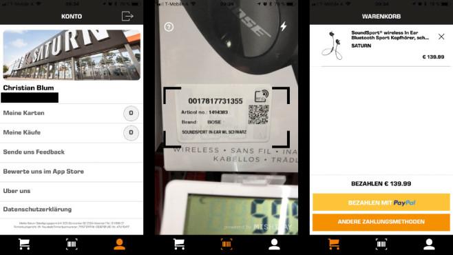 Saturn Express App©COMPUTER BILD