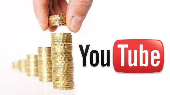 YouTube-Logo mit Münzen©Felix Jork - Fotolia, Youtube