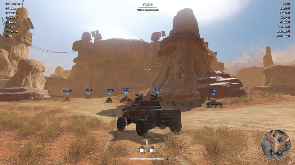 Screenshot 1 - Crossout
