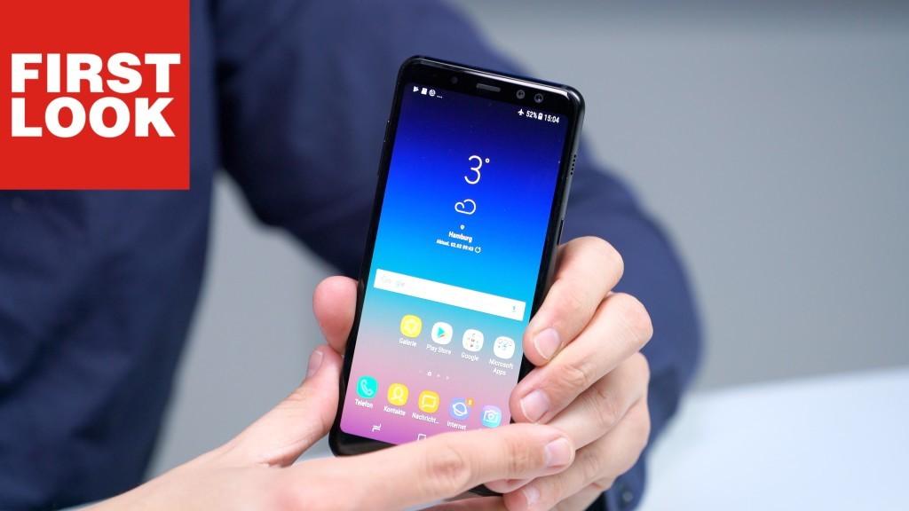 Samsung Galaxy A8 2018 Im Test Jetzt Noch Besser Computer Bild