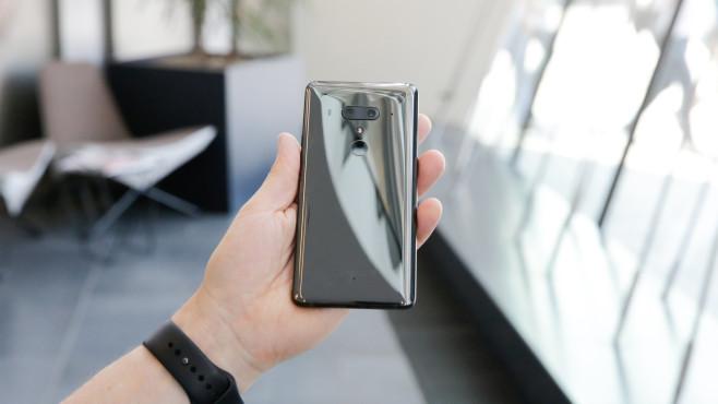 HTC U12+: Gesichtserkennung©COMPUTER BILD