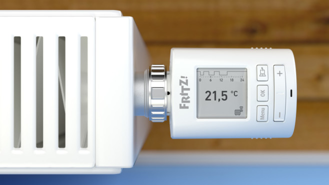 Smartes Thermostat: FritzDECT 301 ©AVM