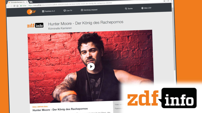 Hunter Moore © ZDF