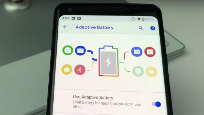 Android 9 Beta: Helligkeits- und Akku-Einstellungen©COMPUTER BILD