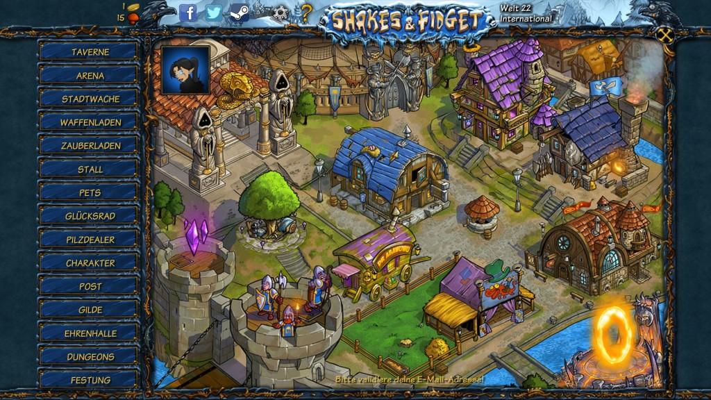 Screenshot 1 - Shakes and Fidget