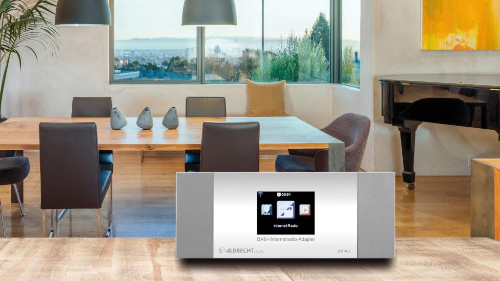 albrecht dr 463 webradio und dab adapter audio video. Black Bedroom Furniture Sets. Home Design Ideas