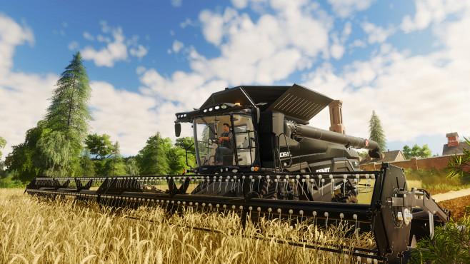 Landwirtschafts-Simulator 19: Das Glück dieser Erde! Riesig: So ein Mähdrescher ist schon eine imposante Erscheinung.©Astragon