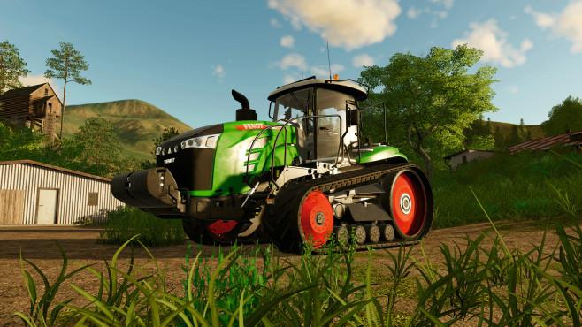 Landwirtschafts-Simulator 19: Das Glück dieser Erde! Trecker XXL: Der Raupentraktor Fendt 1100 MT gehört zu den besten Fahrzeugen seiner Klasse.©Astragon
