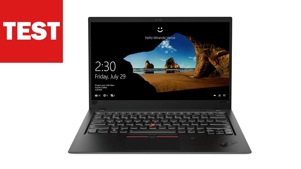 Lenovo Thinkpad X1 2018 Edel Notebook Im Test Computer Bild