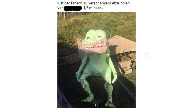 Lustiger Frosch©Best of Kleinanzeigen Instagram