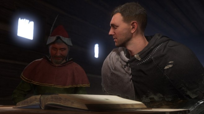 Screenshot Kingdom Come - Deliverance: Lesen © Warhorse Studios