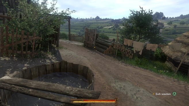 Screenshot Kingdom Come - Deliverance: Waschen © Warhorse Studios