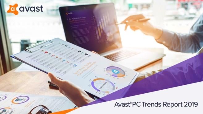 Avast PC Trend Report 2019©Avast, COMPUTERBILD
