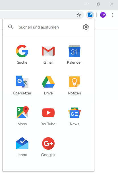 Screenshot 1 - Shortcuts for Google für Chrome