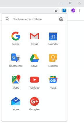 Shortcuts for Google für Chrome