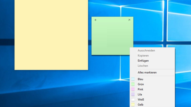 Windows 10 ab 1607: Die alten Kurznotizen wiederherstellen©COMPUTER BILD