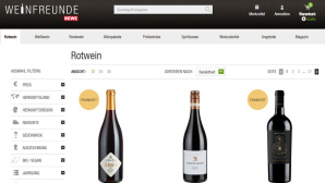 Weinfreunde Website©Rewe/Weinfreunde