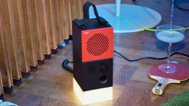 IKEA Frekvens: Lautsprecher und Lampenbaustein©IKEA