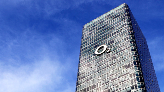 """Das Hochhaus Uptown München, von Telefónica auch """"O2 Tower"""" genannt©O2"""