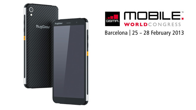 MWC: Neues Outdoor-Smartphone von RugGear © RugGear / GSMA Mobile World Congress