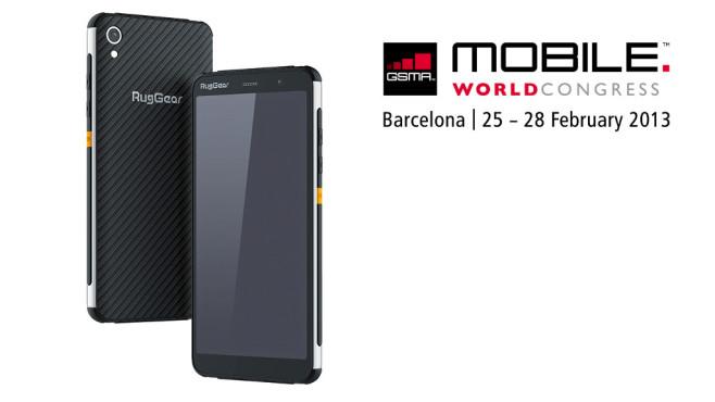 MWC: Neues Outdoor-Smartphone von RugGear©RugGear / GSMA Mobile World Congress