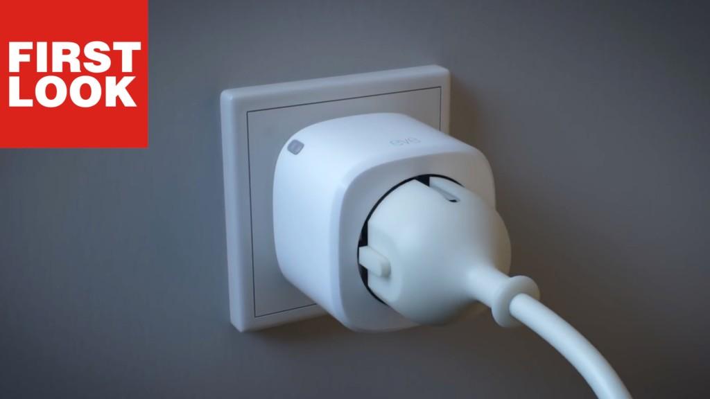 elgato eve energy smarte steckdose optimal f r apple home computer bild. Black Bedroom Furniture Sets. Home Design Ideas