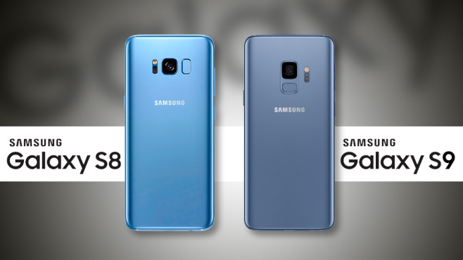 Samsung Galaxy S8 vs. Galaxy S9: Rückseite©Samsung