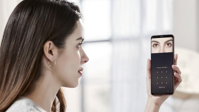 Samsung Galaxy S9: Biometrie©Samsung