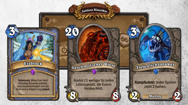 """Hearthstone: Jahr des Raben – Alle Infos! Hearthstone: Diese drei Karten rotieren in die """"Hall of Fame"""" und sind somit nur noch im Wild-Modus spielbar.©Blizzard/ ©istock.com/ernstboese"""