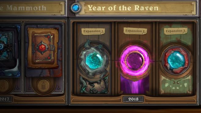 """Hearthstone: Jahr des Raben – Alle Infos! Hearthstone: Im """"Jahr des Raben werden drei Erweiterungen erscheinen, jeweils mit eigenem Einzelspielermodus.©Blizzard"""