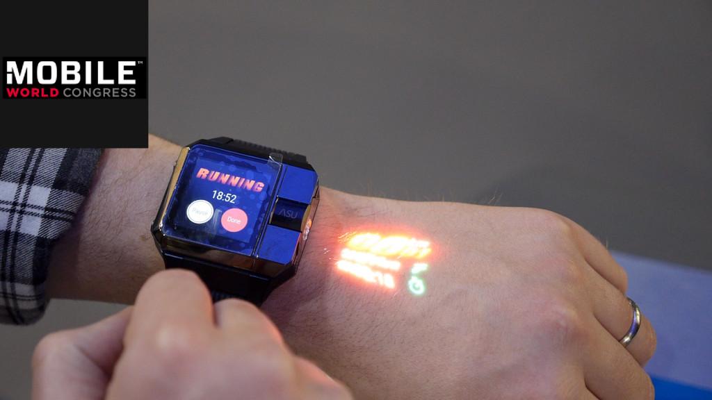 Armband Projektor