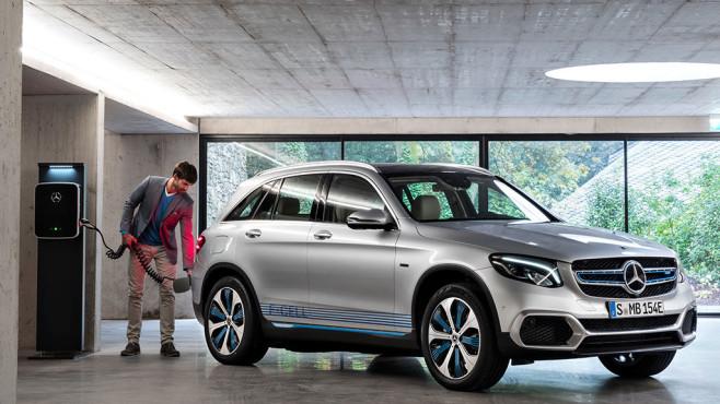 Ladestation von Mercedes.©Daimler