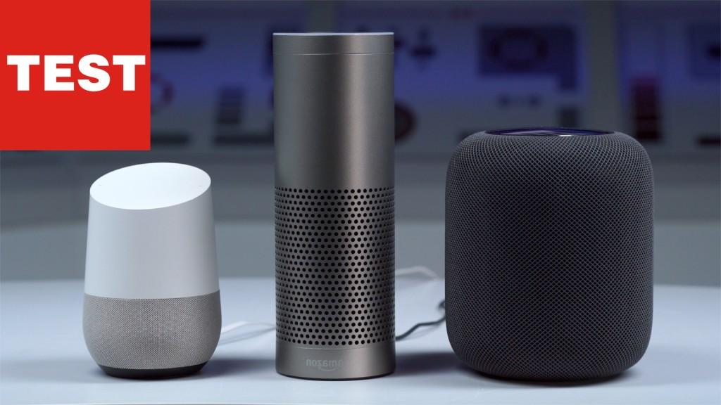apple homepod amazon echo oder google home wer gewinnt. Black Bedroom Furniture Sets. Home Design Ideas