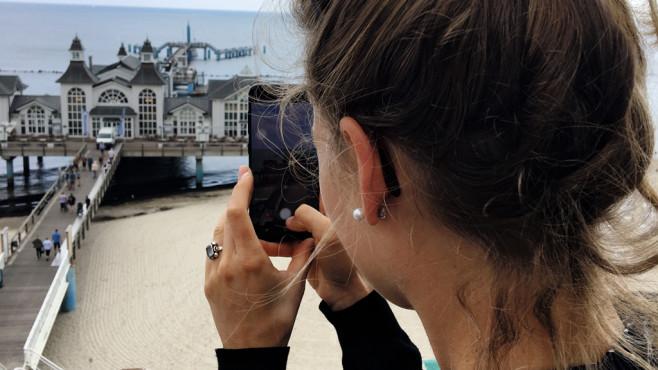 Dauertester fürs O2-Netz©Margret Börngen