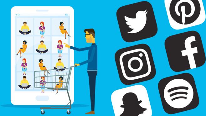 Follower kaufen©iStock.com/TCmake_photo, Facebook, Instagram, Spotify, Pinterest, Snapchat, Twitter