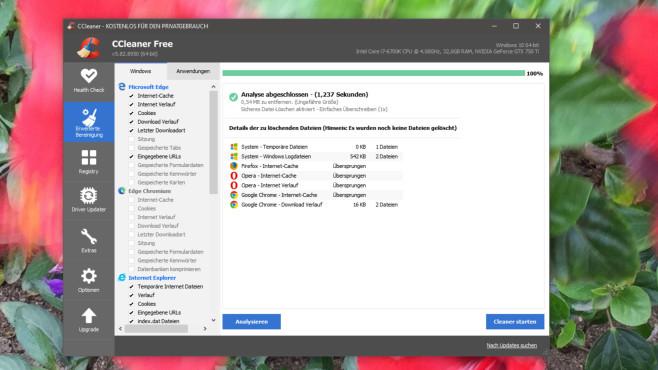 Neuware gebraucht? Windows-Tools checken es©COMPUTER BILD