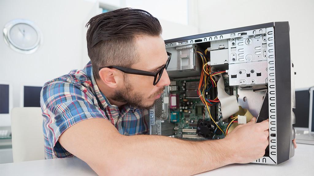 Pc Komponenten So Gunstig Ist Ein Turbo Office Pc Computer Bild
