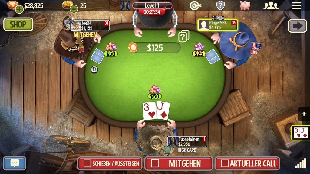 Screenshot 1 - Governor of Poker 3