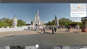 Disneyland bei Google Street View©Google Street View
