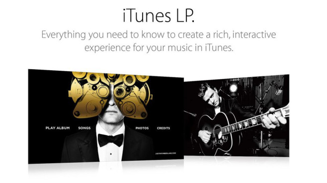 Apple: iTunes LP©Apple