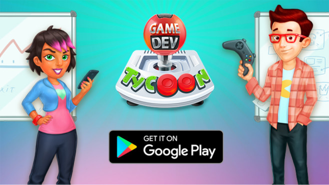 Game Dev Tycoon © Greenheart Games